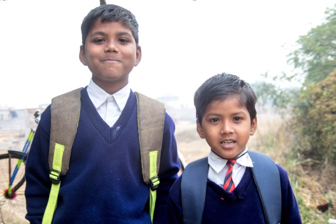 bodh gaya two school boys (1 of 1)